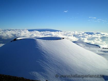 Snowboarding Mauna Kea, Hawaii