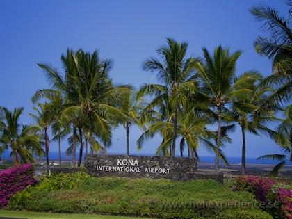 Kona airport hawaii