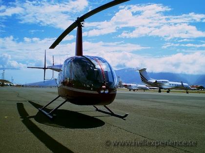 R44 training flight to Maui, Hawaii